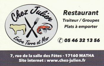 Restaurant et plat à emporter